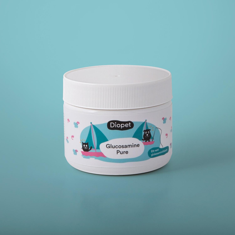 Glucosamine Pure, bra för hundens och kattens leder, brosk och ledvätska